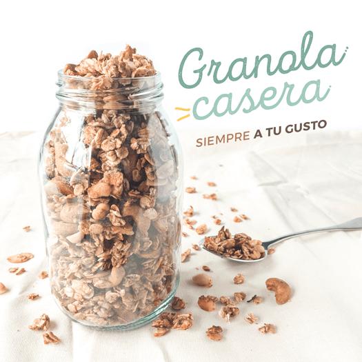 Receta de granola casera plant based (vegana), fácil y rápida - tolá recetas